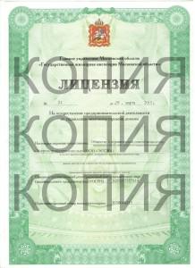 лицензия наша