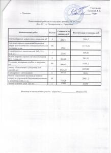 отчет  Тарасовка 7(приложение)  13 год