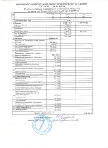 отчет за 14 год Герцена 30 корпус 1